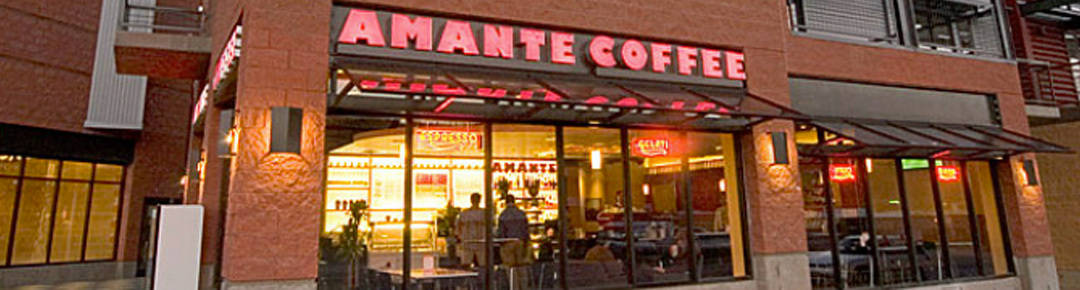 Commercial Amante Coffee