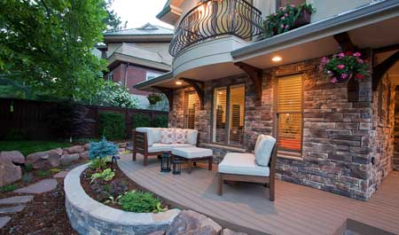 Outdoor Patio Landscaping