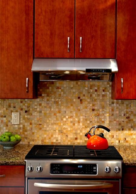 mosaic in kitchen