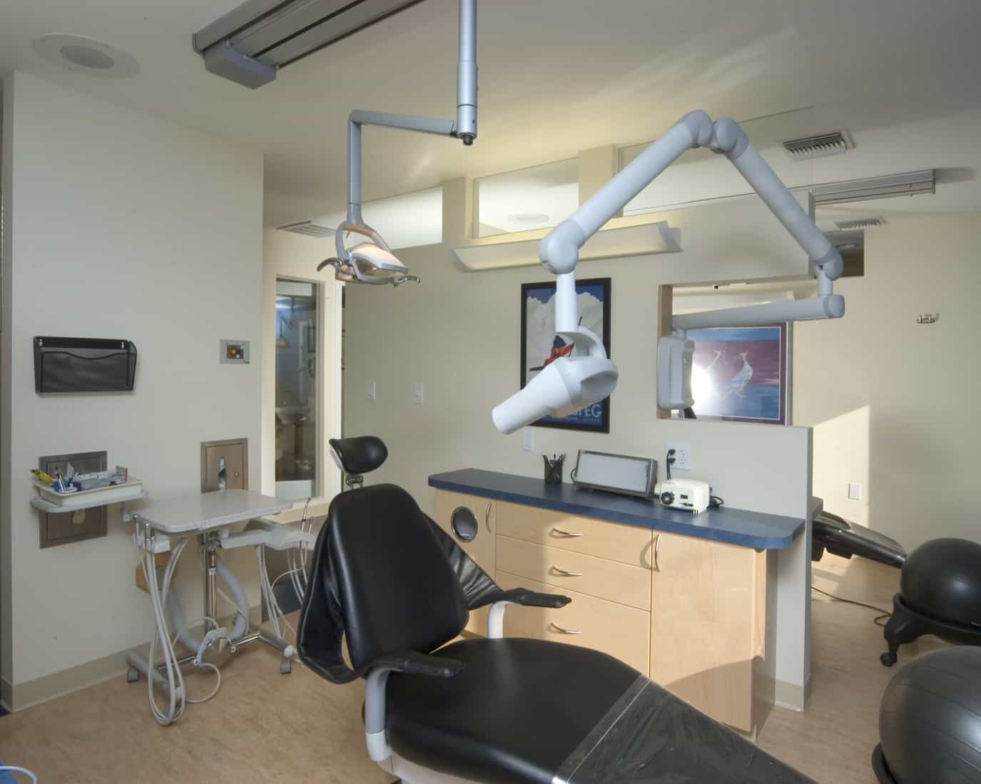 remodeled doctor's office