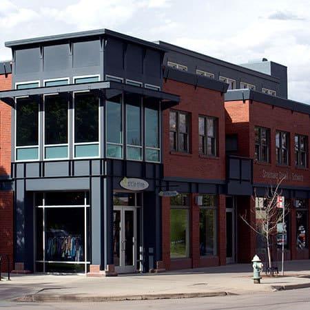 exterior shop remodeling