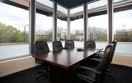 seminar room with great view