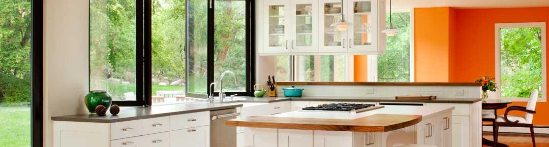 Melton Sliding window wall kitchen project