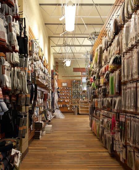 laminate in angler's shop