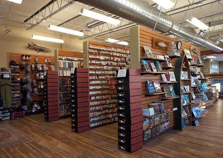 wooden walls as shelves