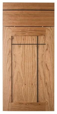 Black line natural cabinet