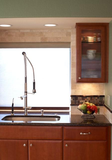 high-tech faucet