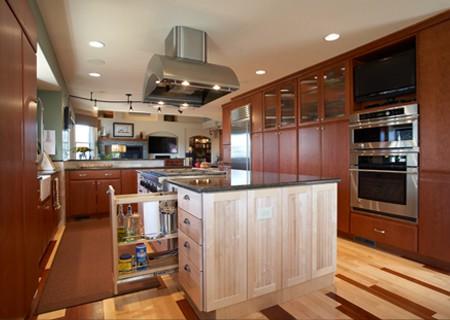 much place in big kitchen