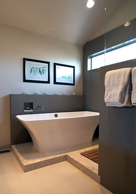 Melton Design Build Boulder Colorado Contemporary Bathroom Remodel Eastern Influence