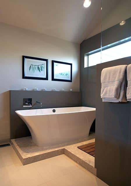 romantic bathtub