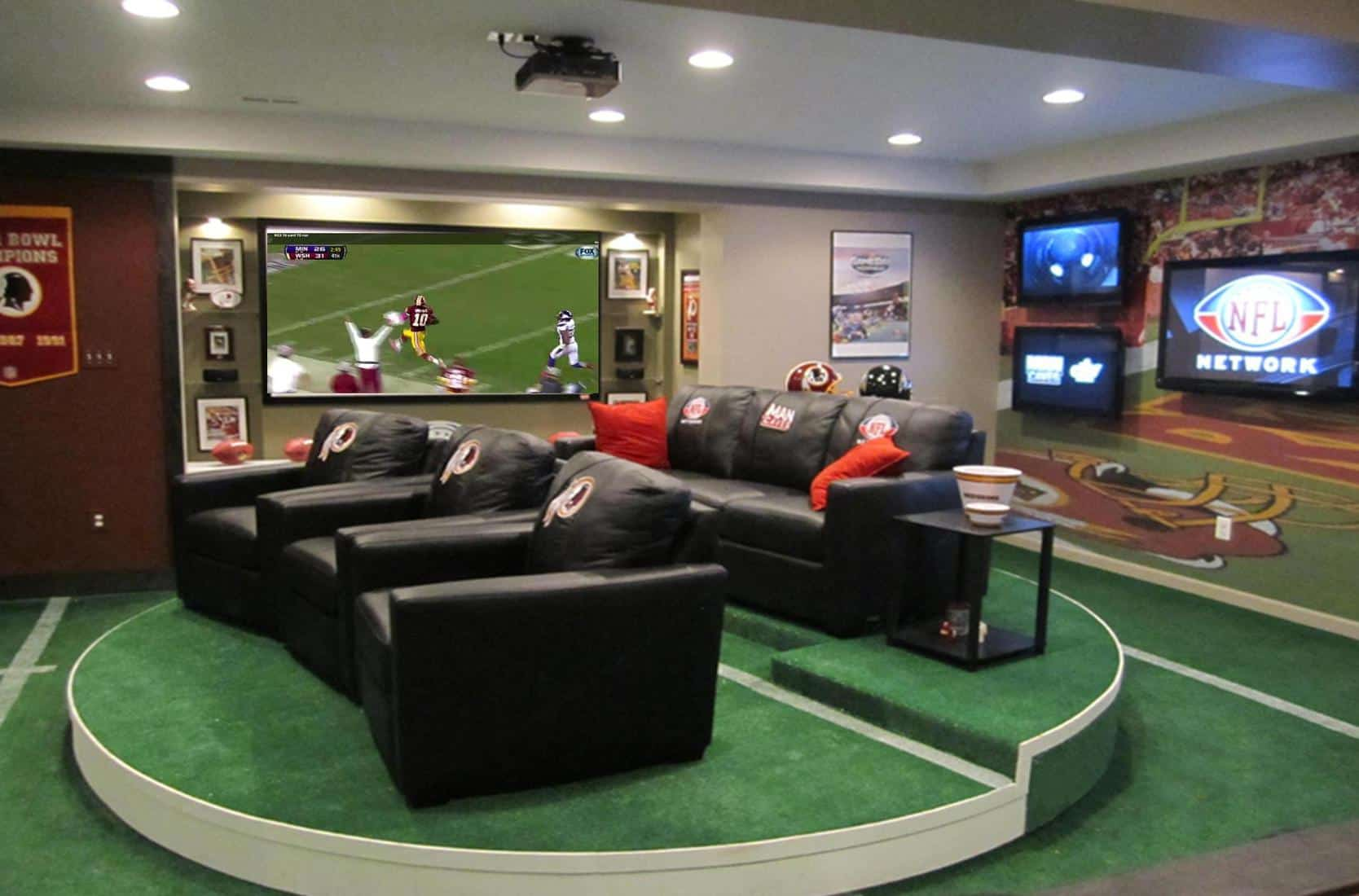 8 Essentials Ideas For Every Man Cave Basement Remodel