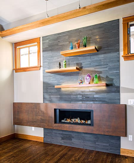 fresh fireplace design
