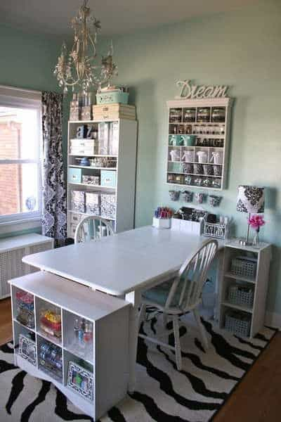 10x10 Room Layout Craft: 8 Essentials Design Ideas For Your Craft Room