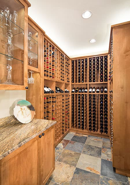 closet for wine lovers