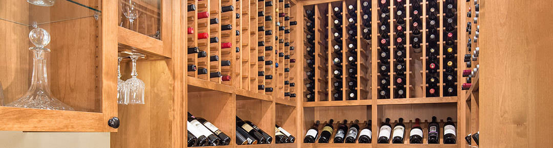 Wine cellar addition in Louisville CO