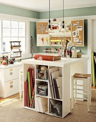 8 essentials design ideas for your craft room melton for Pictures of craft rooms