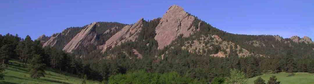 Boulder Flatiron view