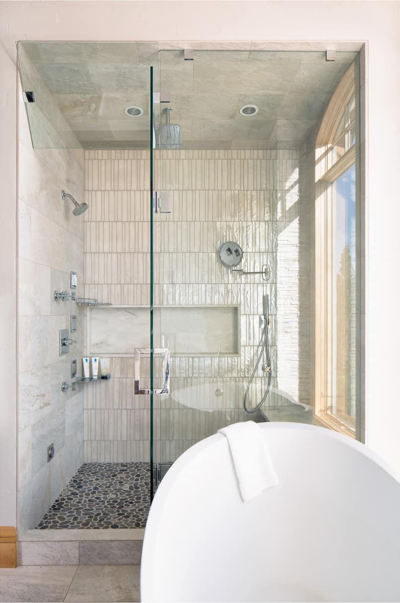 Spa Like Bathroom Remodeling Project Melton Design Build