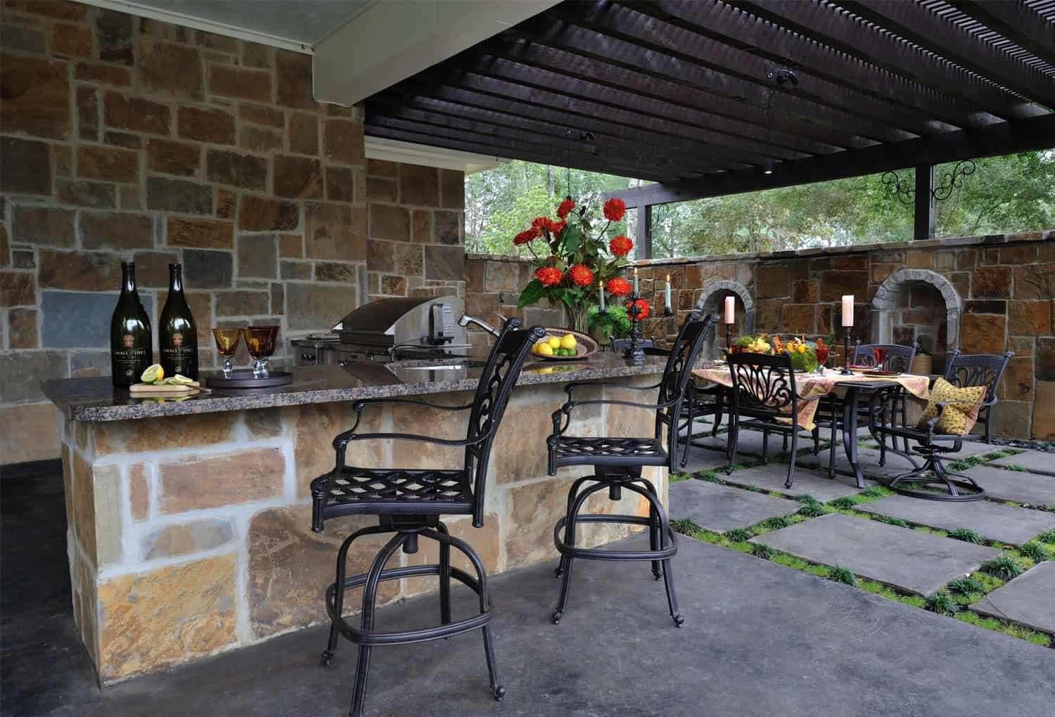 Outdoor Cooking Spaces Part - 46: Outdoor Kitchen