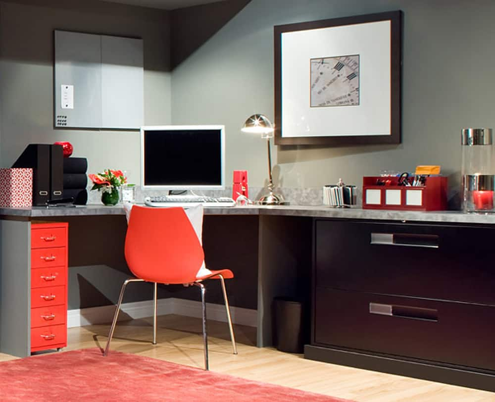 Beautiful home office ideas melton design build for Home office design 10x10