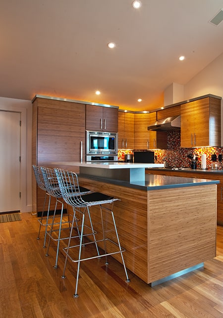 kitchen with wainscot