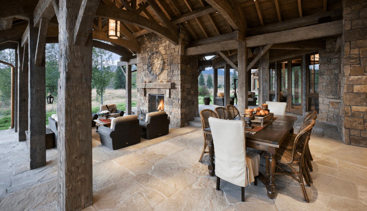7 outdoor living spaces that rock melton design build