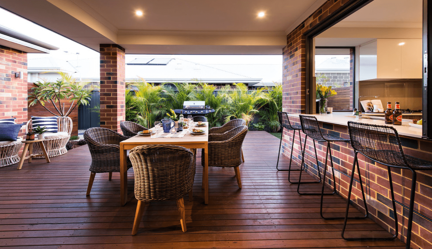 7 outdoor living spaces that rock melton design build for Houzz it