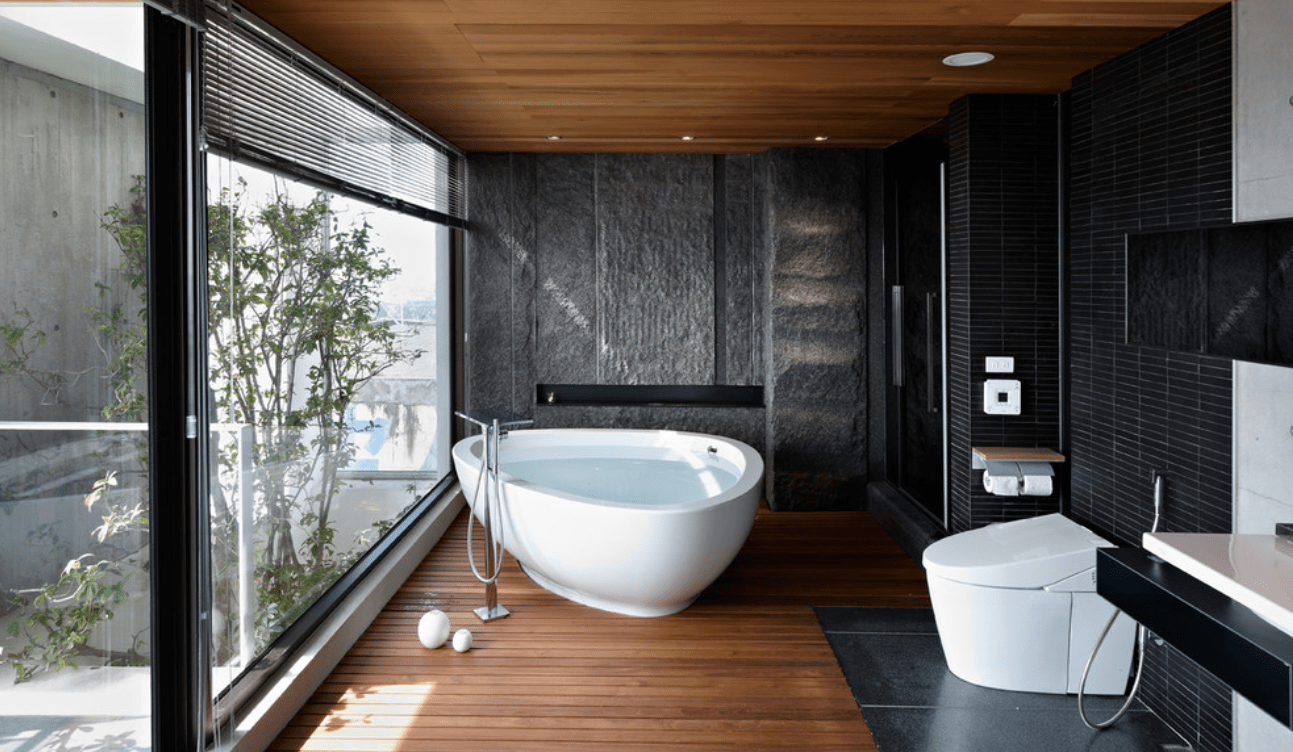 spa like bathroom remodel inspiration melton design build. Black Bedroom Furniture Sets. Home Design Ideas