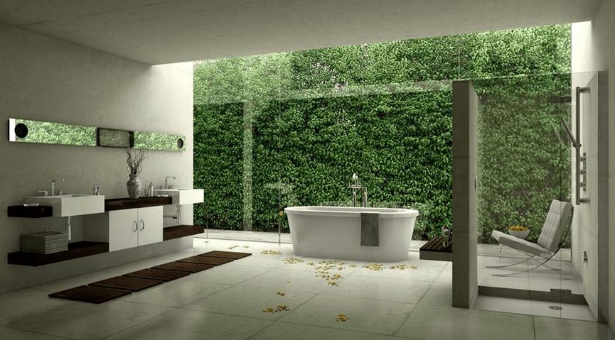 Spa Like Bathroom Remodel Inspiration