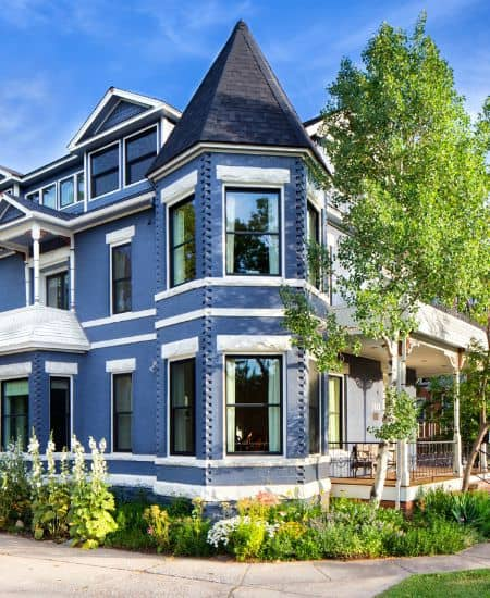 Cauldera LLC Exterior- Queen Anne Style- Studio Q Photography- Melton Design Build Boulder Colorado