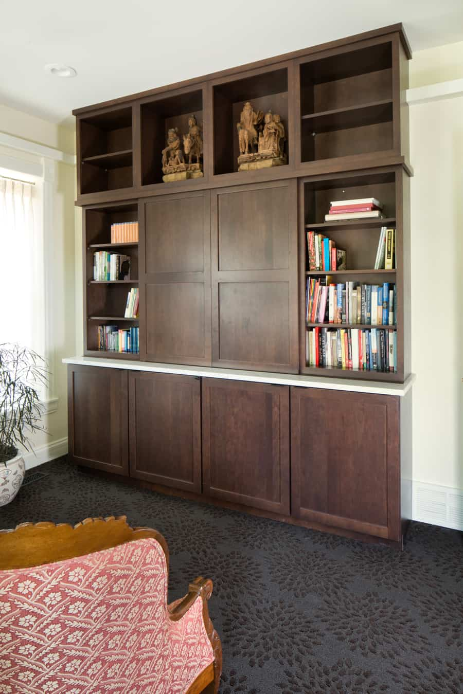 Custom Cabinet- Front Room- Cauldera LLC