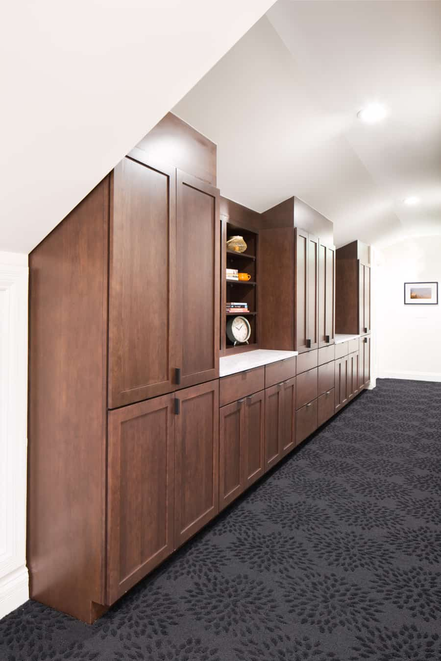 Built In Hallway Cabinets- Cauldera LLC