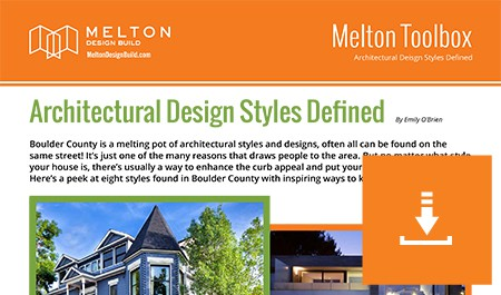 Architectural Design Styles Defined Melton Design Build
