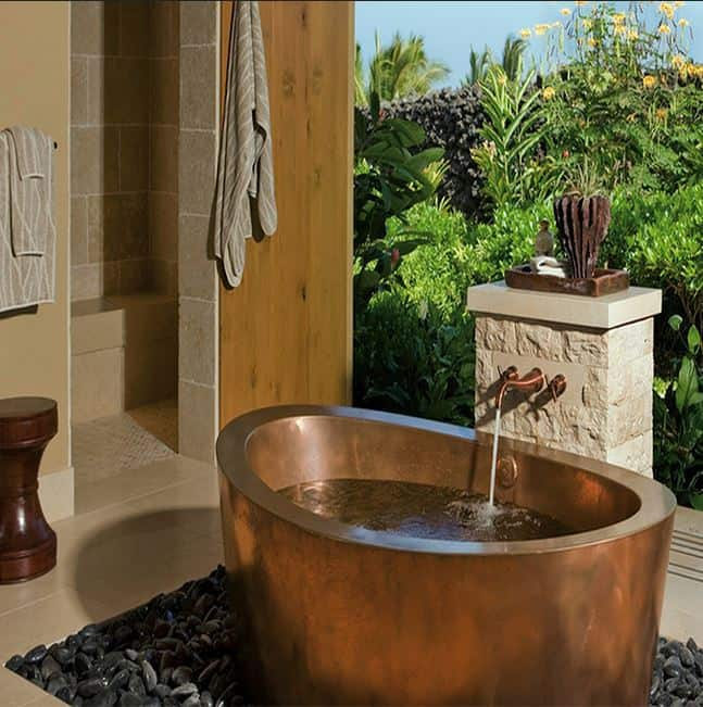 japanese copper soaking tub. Outdoor Soaking Tub Home Renovation Trend  Tubs Melton Design Build