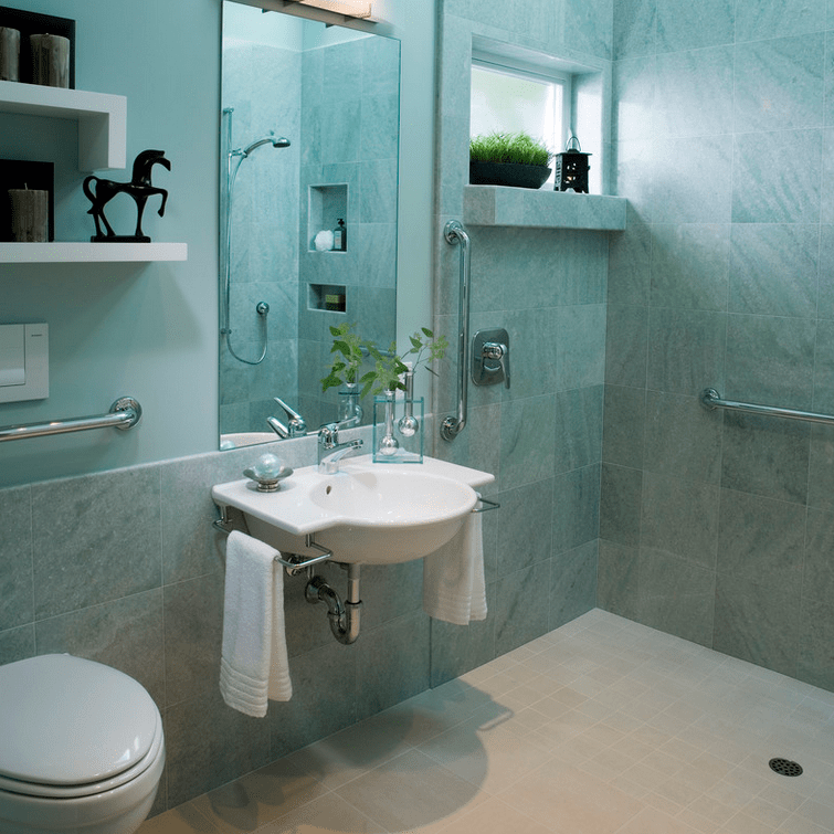 Bathroom Sinks Houzz great universal bathroom design - melton design build