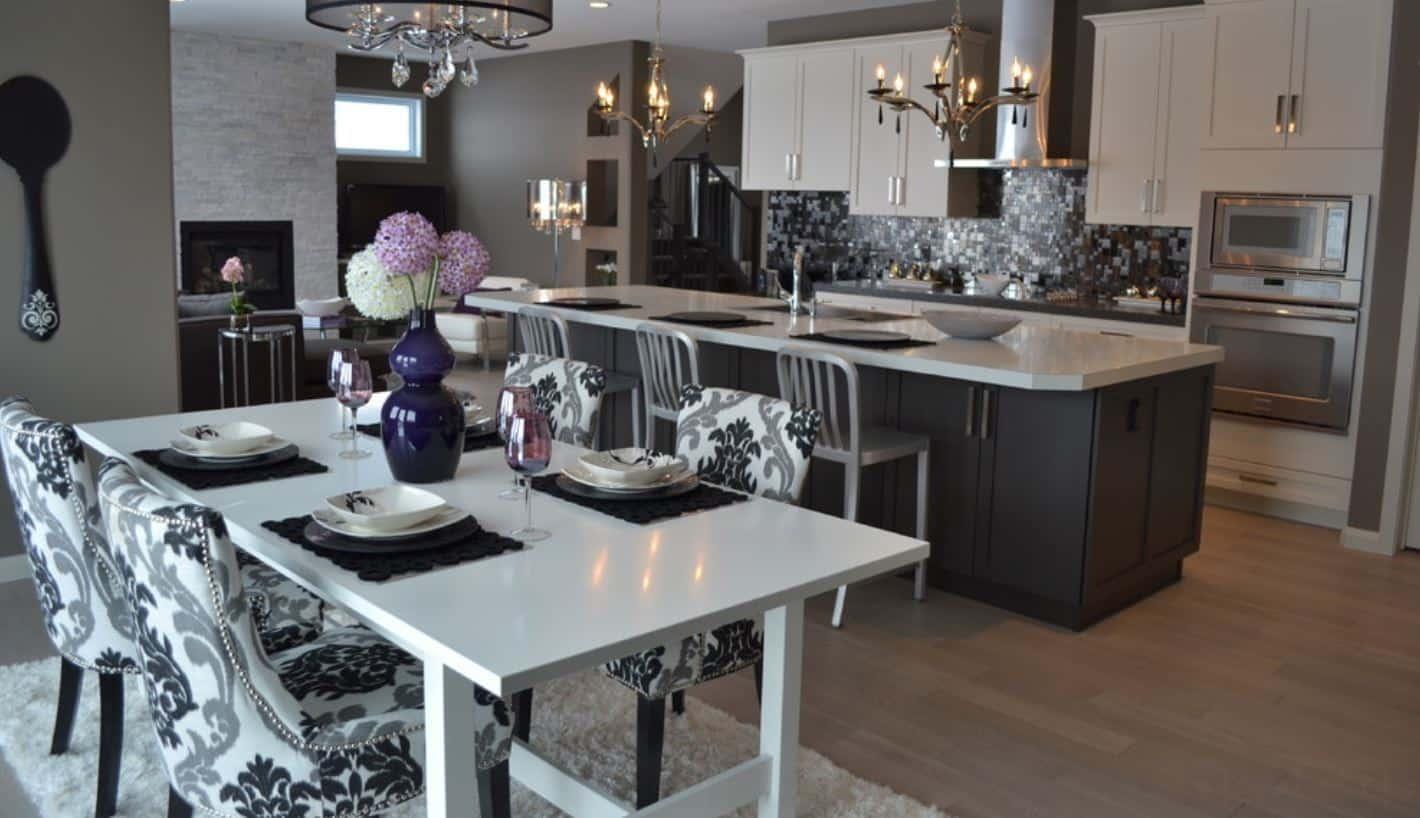 Of Houzz Kitchen Black And White Kitchen Designs