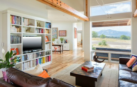 Melton Design Build Fabulous Family Home in East Boulder Colorado Living Room Remodel
