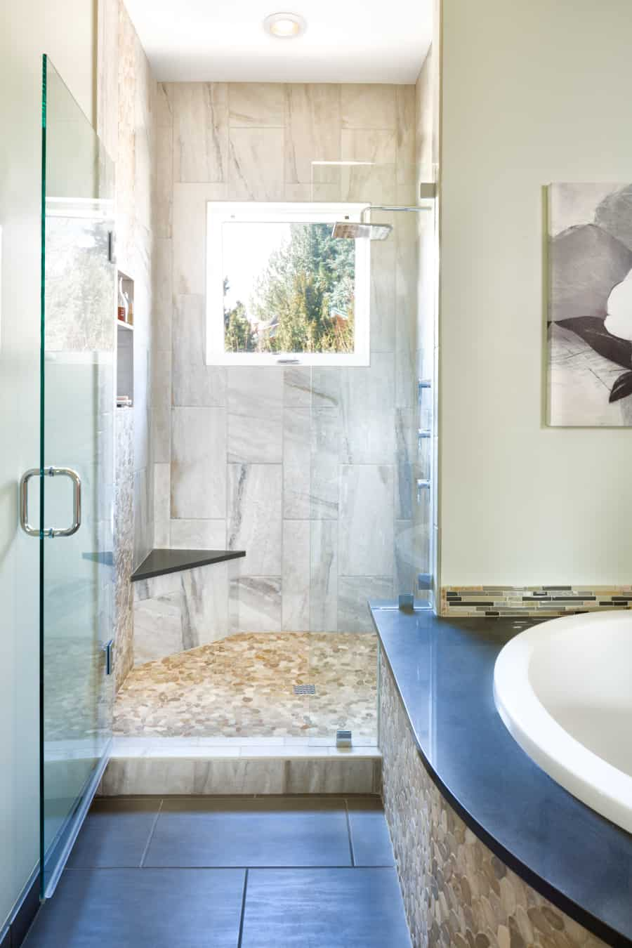 Melton Design Build- Master Bathroom Shower
