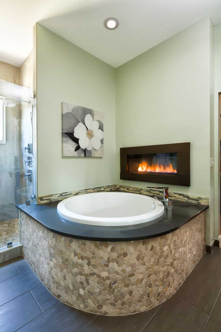 Melton Design Build- Master Bathroom Soaking Tub