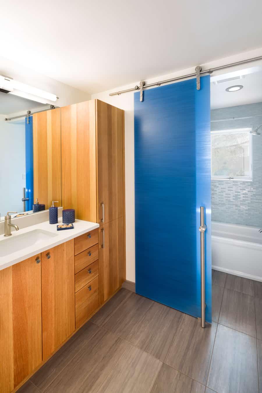 Kids Bathroom Sliding Door