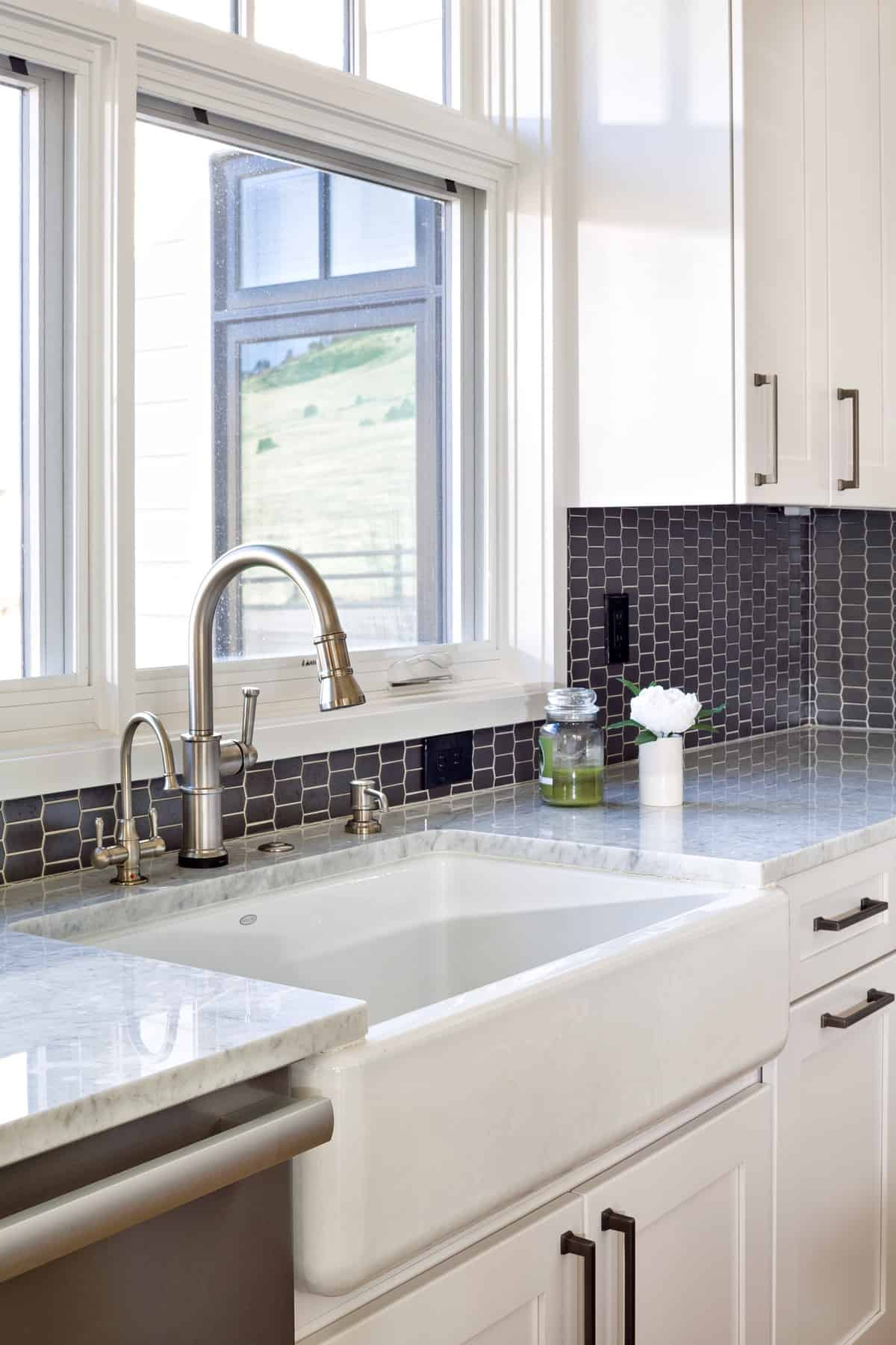 Boulder New Home Build - Training Paradise - Kitchen Sink