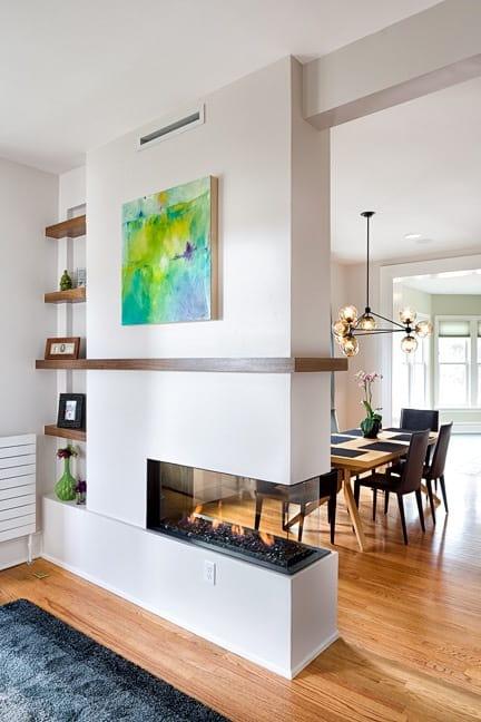 Melton Design Build Remodel - Living Room Fireplace