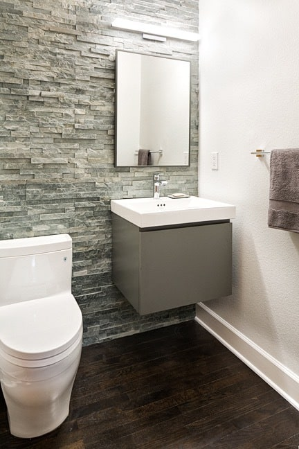 Pine Brook Hills Remodel - Powder Bath Overall