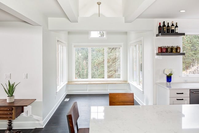 Pine Brook Hills Remodel - Kitchen Breakfast Nook