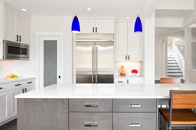 Pine Brook Hills Remodel - Kitchen Island Vignette
