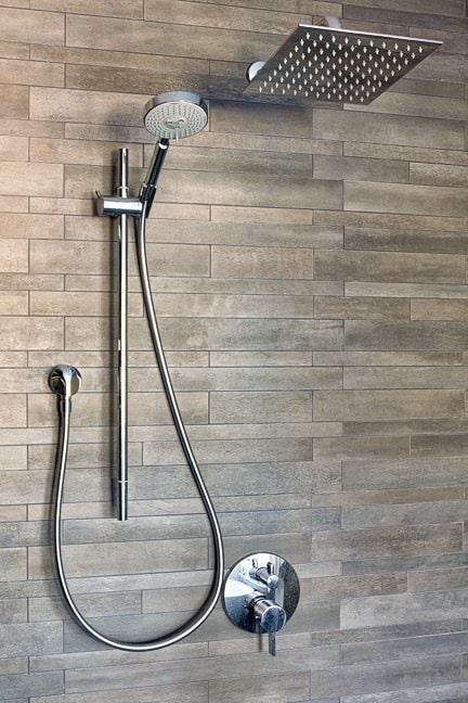 Pine Brook Hills Remodel - Master Bath Shower Detail