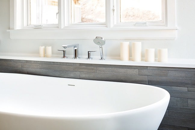 Pine Brook Hills Remodel - Master Bath Tub Detail
