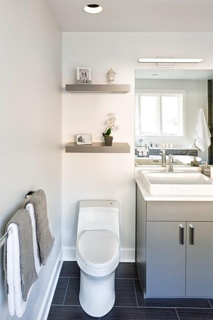 Pine Brook Hills Remodel - Master Bath Vanity & Toilet