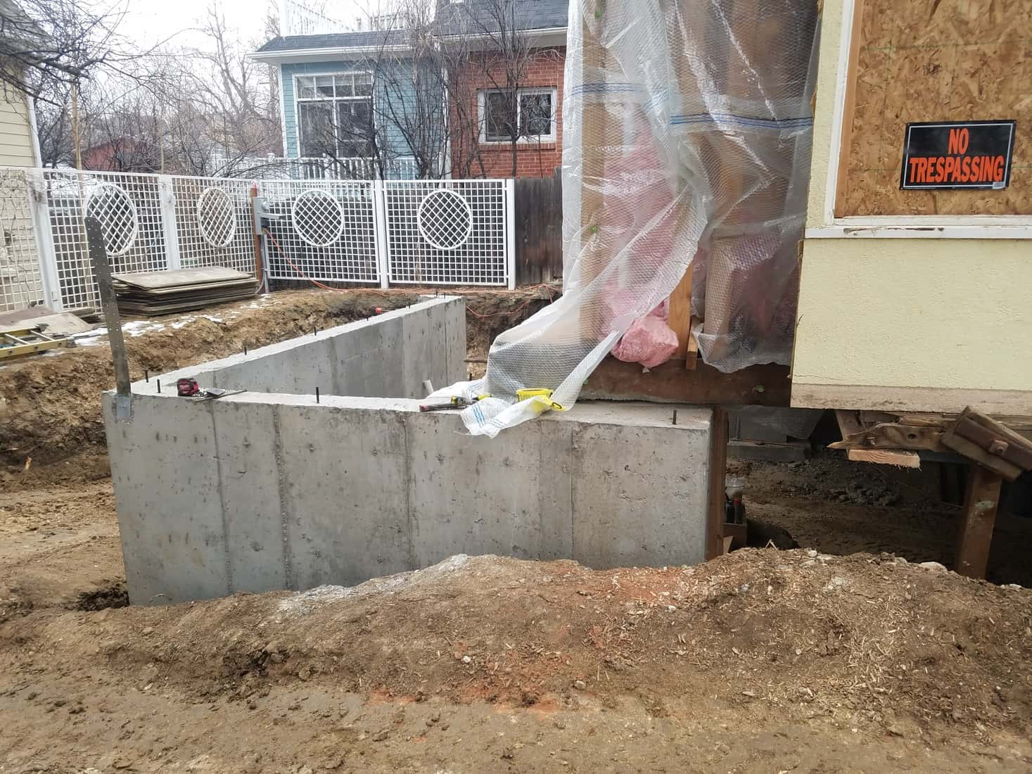 In progress - New Foundation