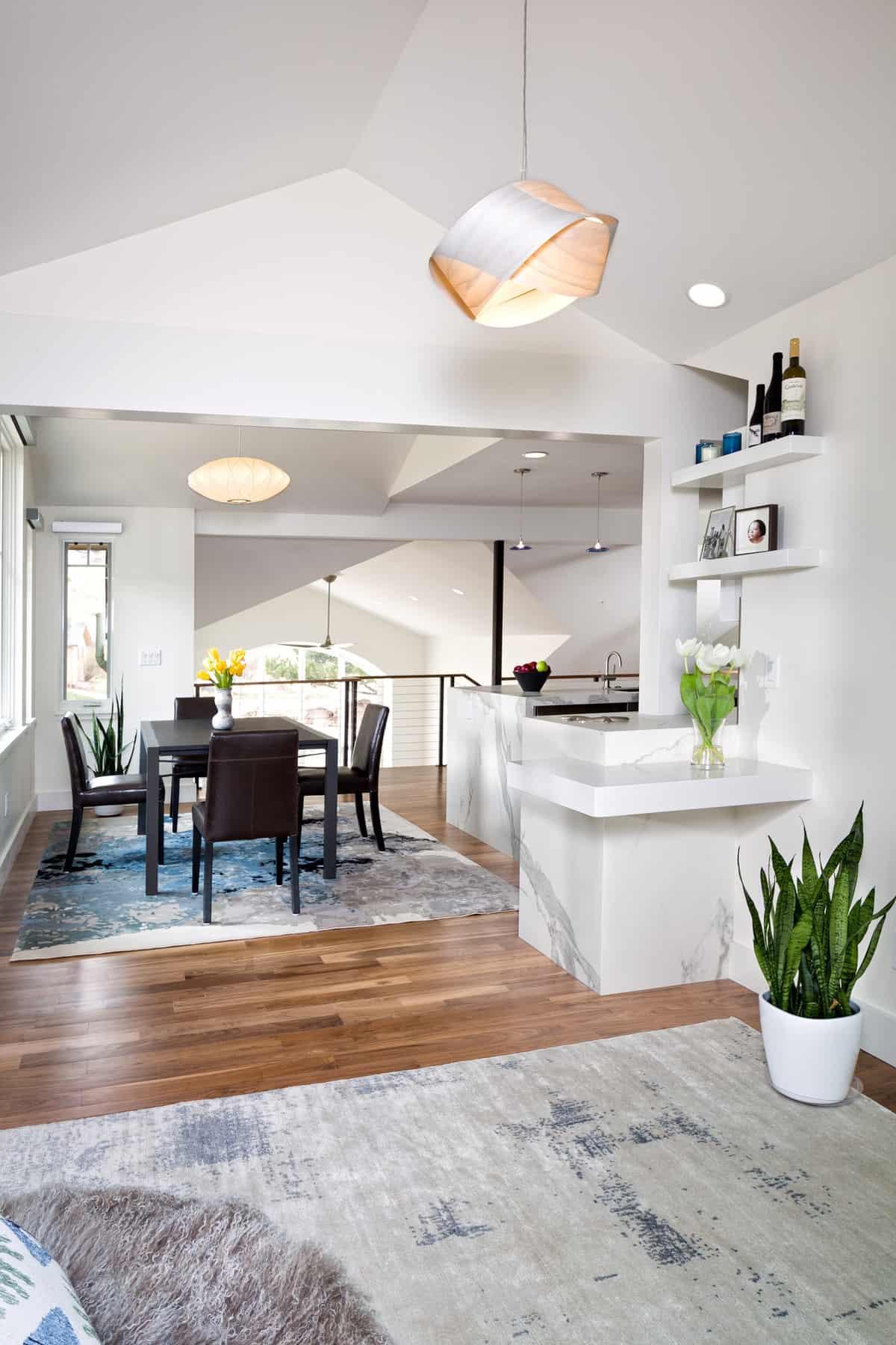 Devil's Thumb Boulder Remodel - Den to Dining Room Kitchen and Living Room